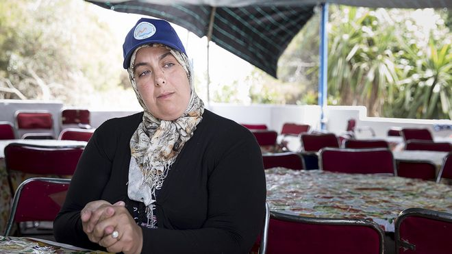 El hijo de Latifa se montó en una patera sin avisar a su madre. Lleva un año viviendo en un centro de menores de Sevilla.