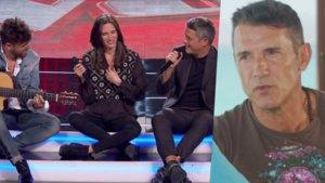 Pablo López y Alejandro Sanz en 'La voz' y Jesús Vázquez en 'Mi casa es la tuya'.