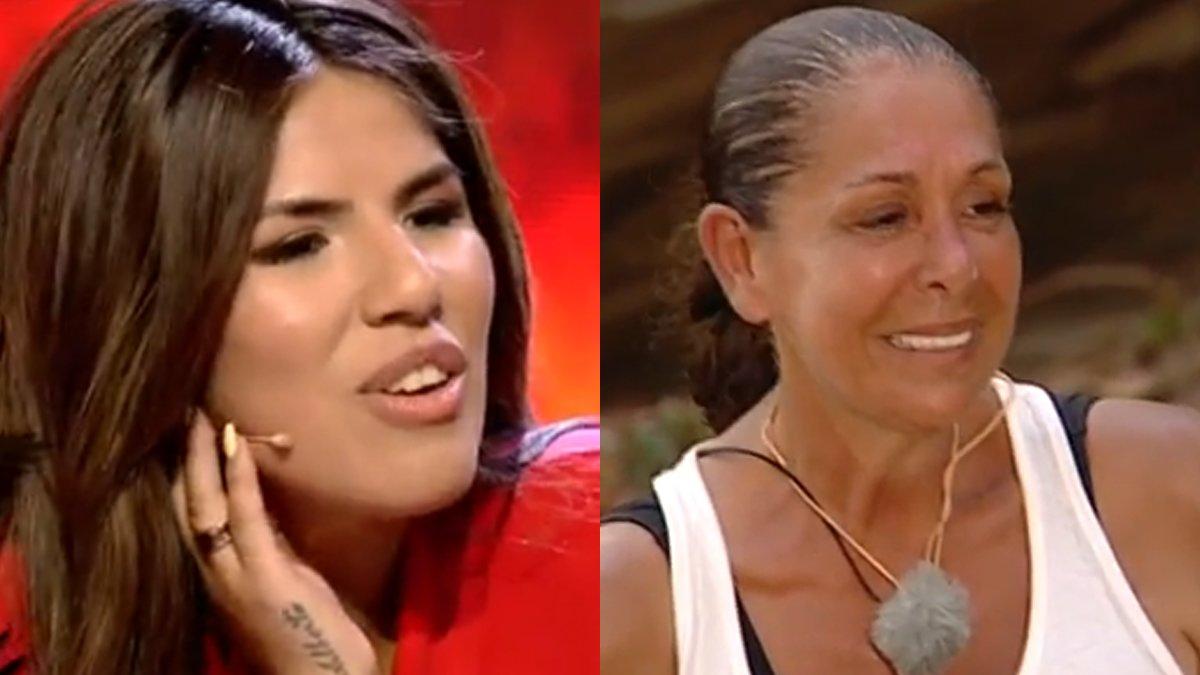"""Chabelita le canta en directo a Isabel Pantoja en 'Supervivientes': """"Gracias por todo lo que me has dado"""""""