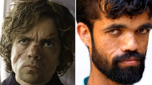 Peter Dinklage y su doble paquistaní.