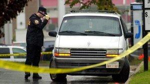 Policía local de Henrico County, en Virginia (EEUU).