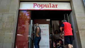 El Popular recupera junto al Santandersunegocio de tarjetas en España y Portugal, tras venderlo aWiZink entre 2014 y 2016.