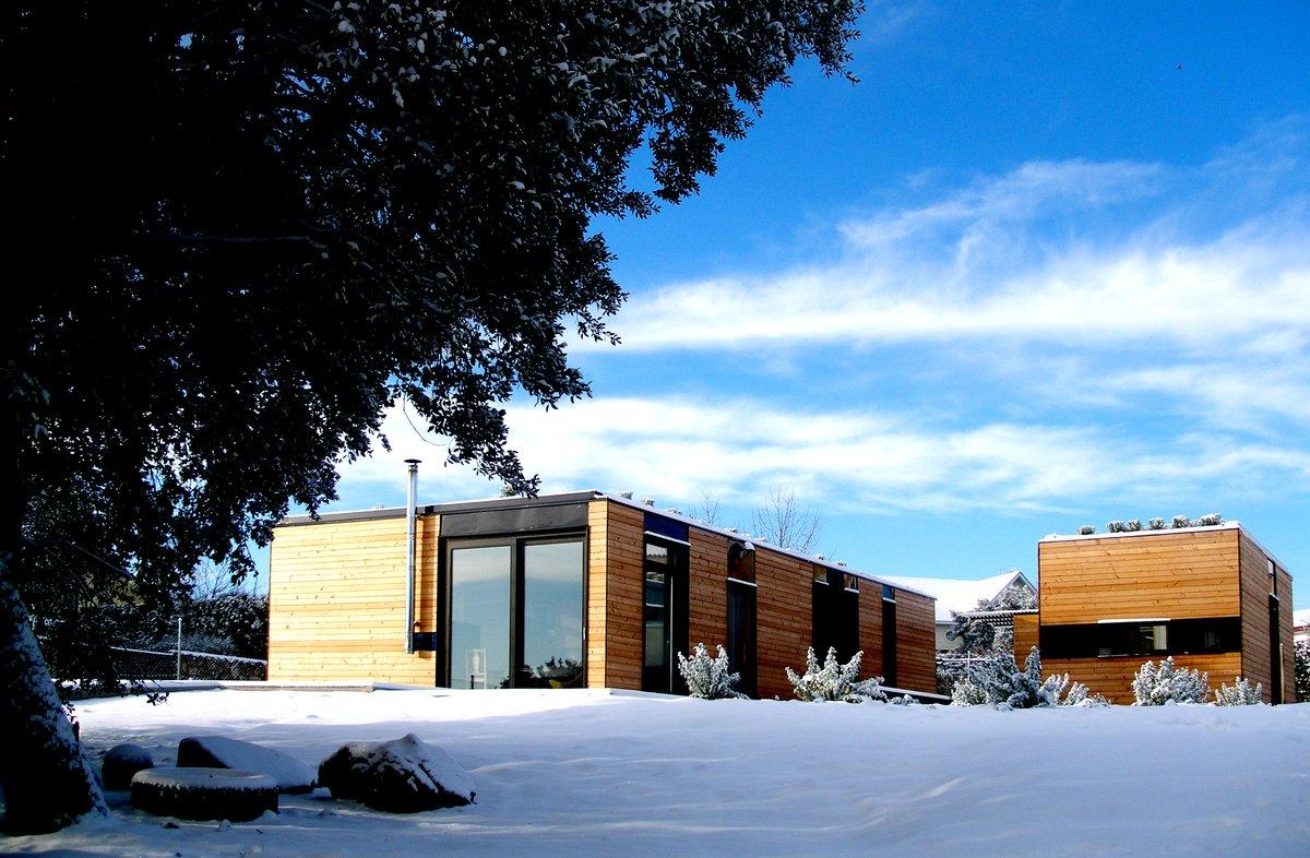 Imagen de una de las casas industrializadas de Modulab