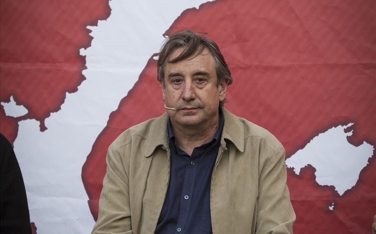 Juanjo Puigcorbé, en un acto de la juventudes de ERC, en el 2015.
