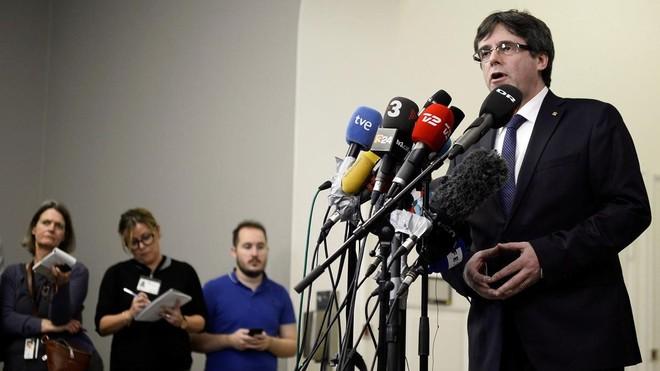 Puigdemont: Estoy trabajando para poder ir al pleno de investidura