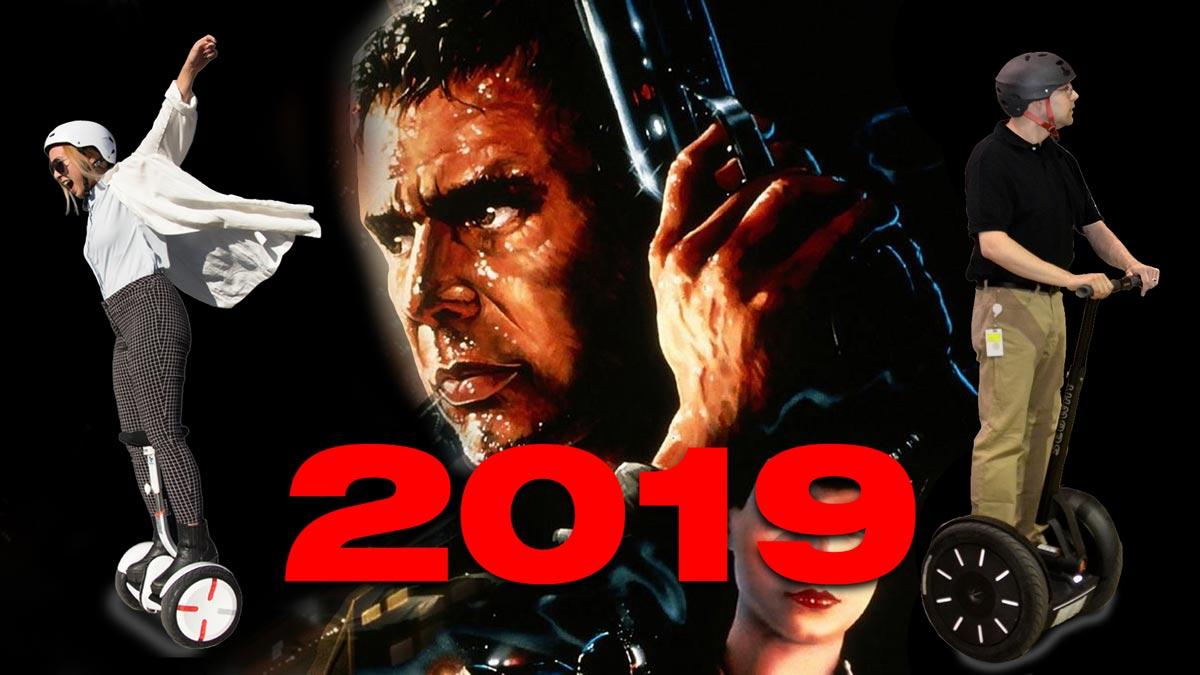 Bienvenidos al 2019, el año en que está ambientada Blade runner.