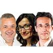 Rafa Homet, Pilar Gargallo y Ismael Palacín