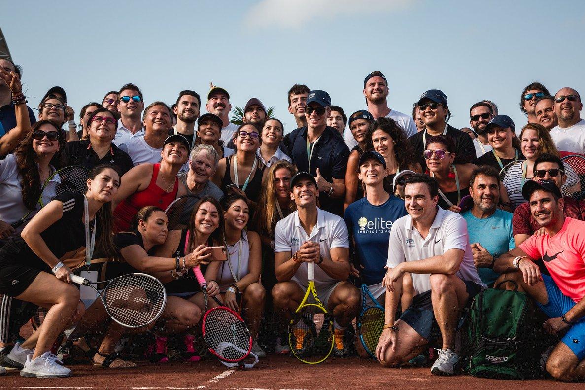 El Rafa Nadal Tennis Centre ya ha sido catalogado por los aficionados como El Nuevo Paraíso del Tenis.