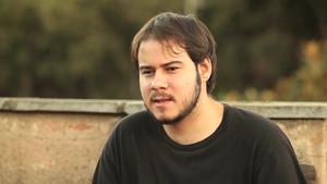 El rapero leridano Pablo Hasél.
