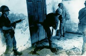 Foto de 1975 en plena oleada represiva de la dictadura argentina.