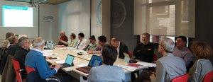 Reunión delcomité de dirección de losFerrmedMultisectoral Working Groups(Fmwgs)en Barcelona, en el Col·legi d'Enginyers Industrials de Catalunya.