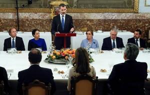 El Rey elogia la gestión del presidente de Ecuador: lealtad a la patria, honestidad y consenso