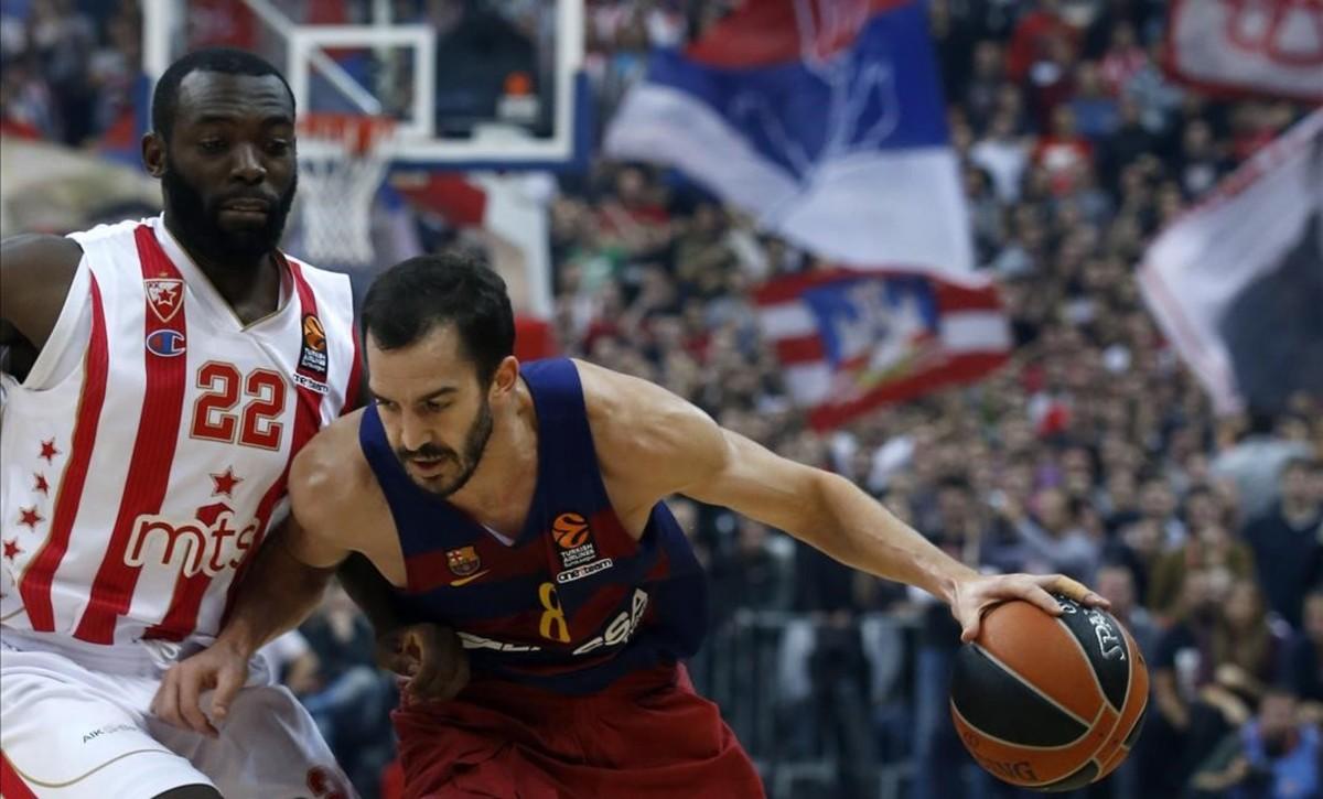 El Barça encaja en Belgrado una dolorosa derrota