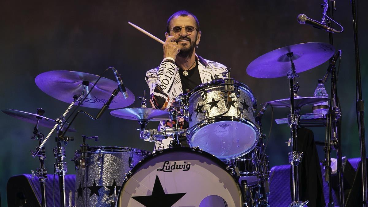 Ringo Starr, en el Palau Sant Jordi