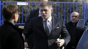 El primer ministro eslovaco, Robert Fico, en marzo de este año.