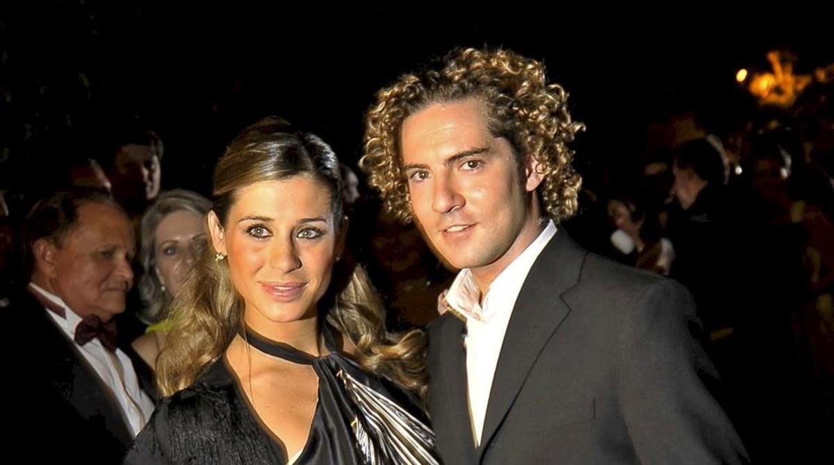 David Bisbal anuncia que se ha casado con Rosanna Zanetti