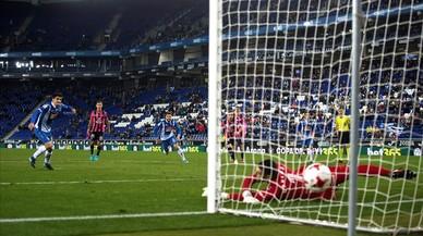 Iglesias Villanueva la torna a fer grossa en la remuntada de l'Espanyol contra el Tenerife