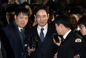 Detingut l'hereu de Samsung acusat de suborn pel 'cas Rasputina'