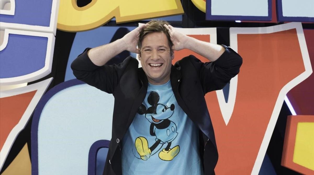Carlos Latre, presentador del nuevo concurso familiar de Disney Channel 'Boca-Zas!'.