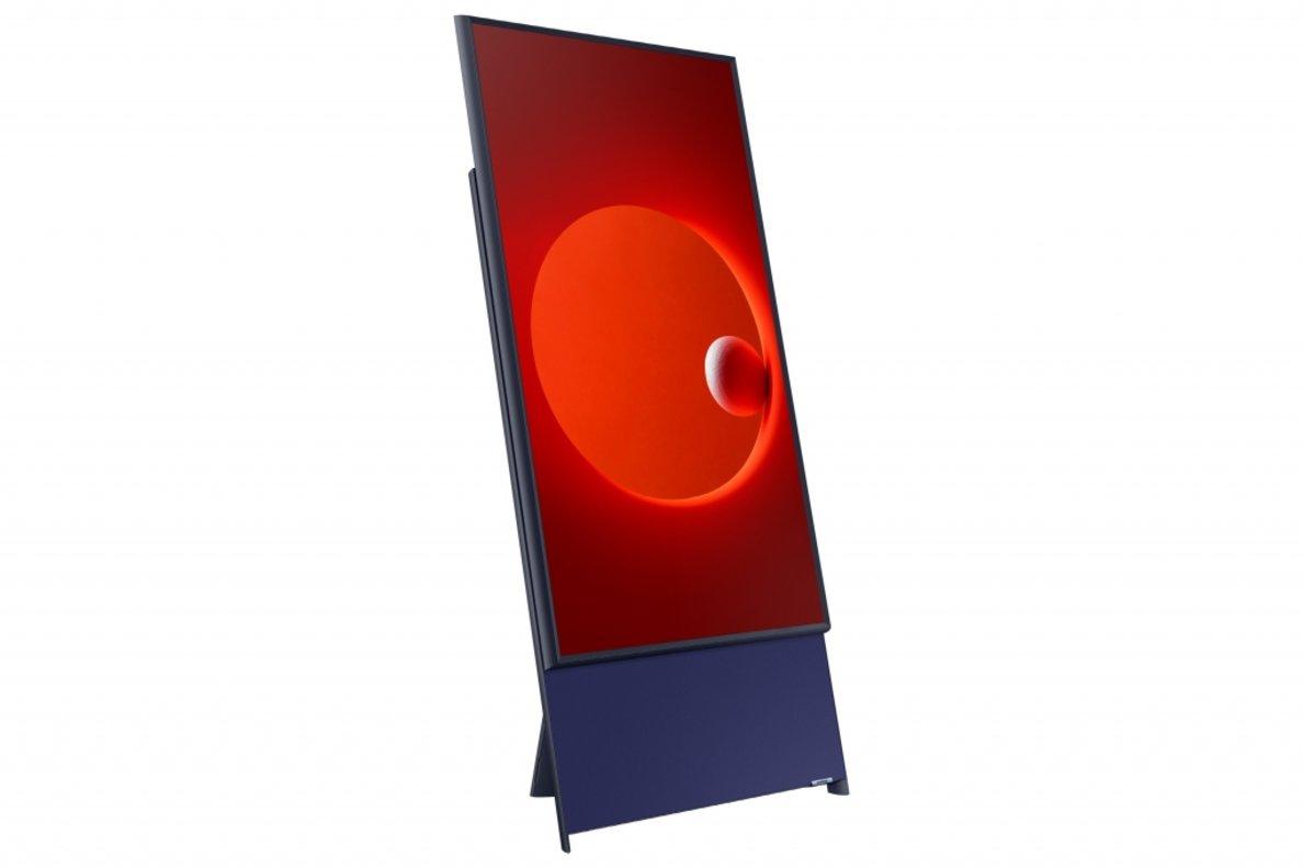 El televisor Sero que ha presentado Samsung en el CES.