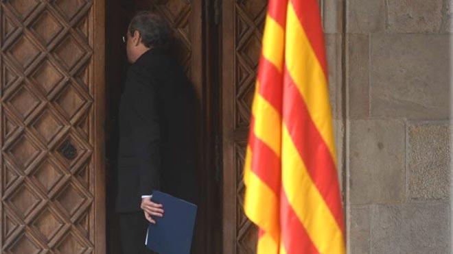 Torra anuncia eleccions després dels pressupostos i carrega contra ERC