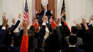 Trump, más débil pero desafiante