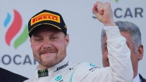 Valtteri Bottas (Mercedes) gana el GP de Azerbaiyán y lidera el mundial de Fórmula 1