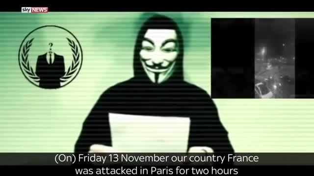 El grupo de hackers Anonymous declara la ciberguerra al Estado Islámico.