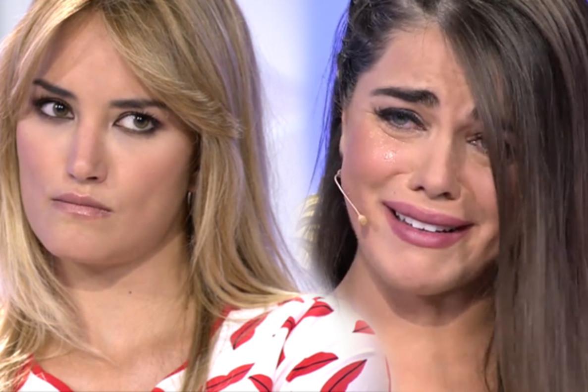'MYHYV' | Violeta se derrumba por un comentario de Alba Carrillo