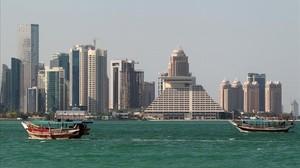Vista de la ciudadde Doha, capital de Catar.