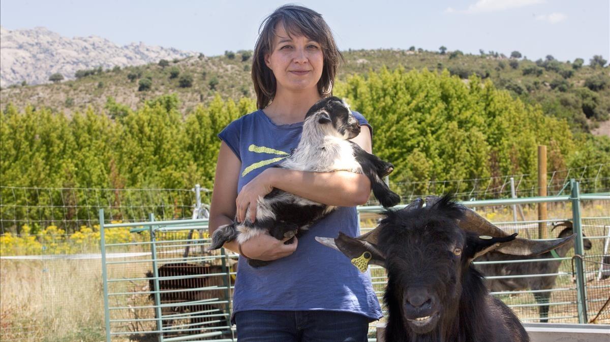 María Jesús Carrasco: «Hay que trabajar para vivir, no vivir para trabajar»