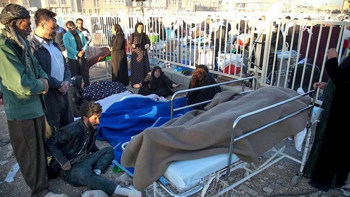 Més de 400 morts i 5.900 ferits en un terratrèmol a l'Iraq i l'Iran