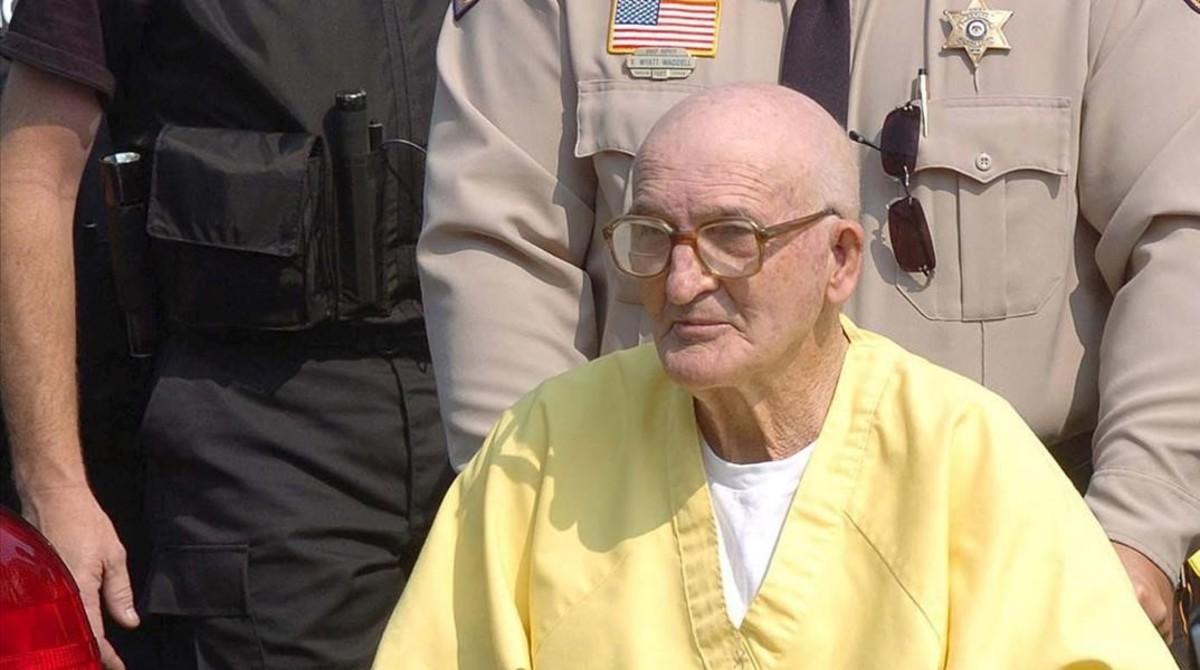 Edgar Ray Killen, el único condenado por el asesinato de los tres activistas de los derechos civiles en Misisipí.