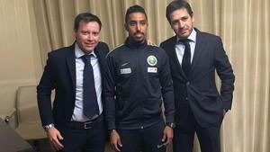 El Villarreal presentó al extremo internacional saudí Salem Al Dawsari.