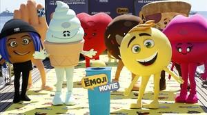 'Emojis' posan en el festival de Cannes en mayo del 2017