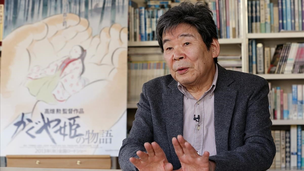 Isao Takahata, en el 2015.
