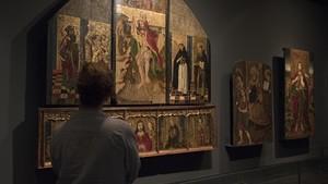 Tres de las piezas reclamadas por Aragón dentro del conflicto de los 111 bienes de la Franja.