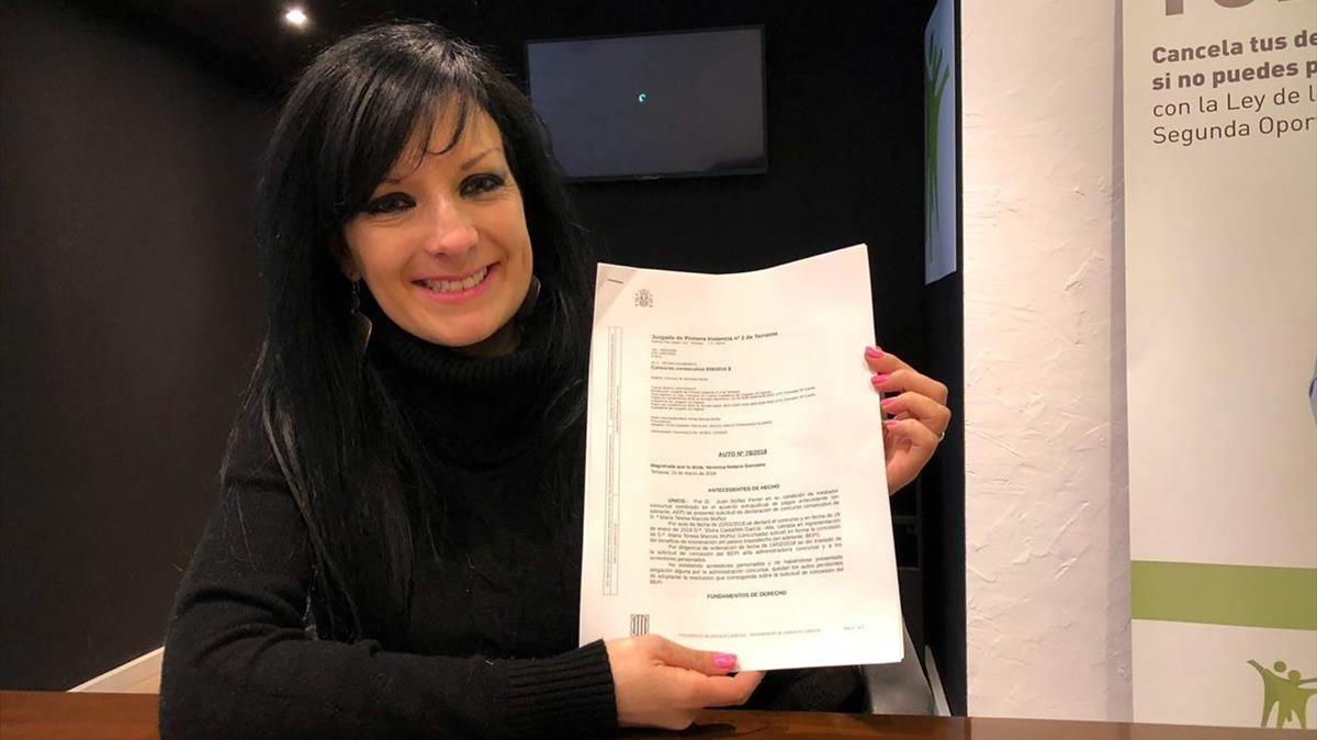 María Teresa Marcos: «Et fan sentir com una delinqüent encara que no ho ets»