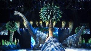 El braquiosaurio es el ejemplar más alto y mide 11 metros.