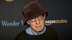 Wody Allen, en la presentación en el 2017 de su película Wonder Wheel, producida por Amazon.
