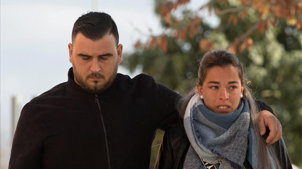 Los padres de Julen, José Roselló y Victoria García.