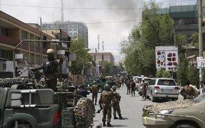 Nou ferits en un atac talibà contra una oenagé a Kabul