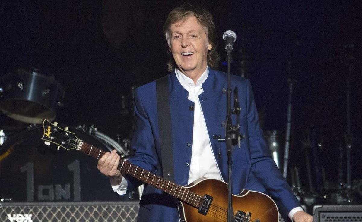 Paul McCartney, en un concierto en Florida, en el 2017.