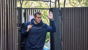 El líder opositor rus Aleksei Navalni queda en llibertat després de 30 dies a la presó
