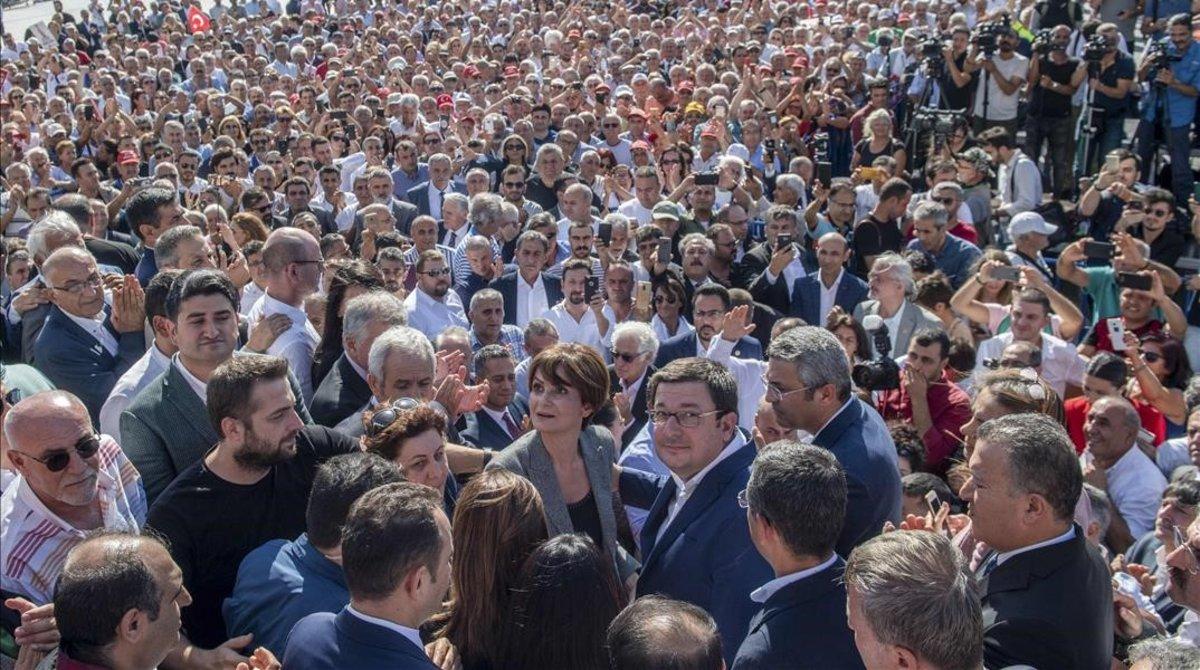La cuenta atrás de la líder turca condenada Canan Kaftancioglu