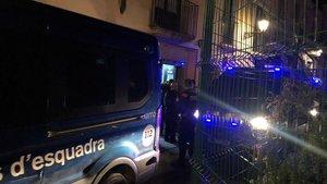 Detingudes 18 persones en una operació conjunta a la discoteca Moog