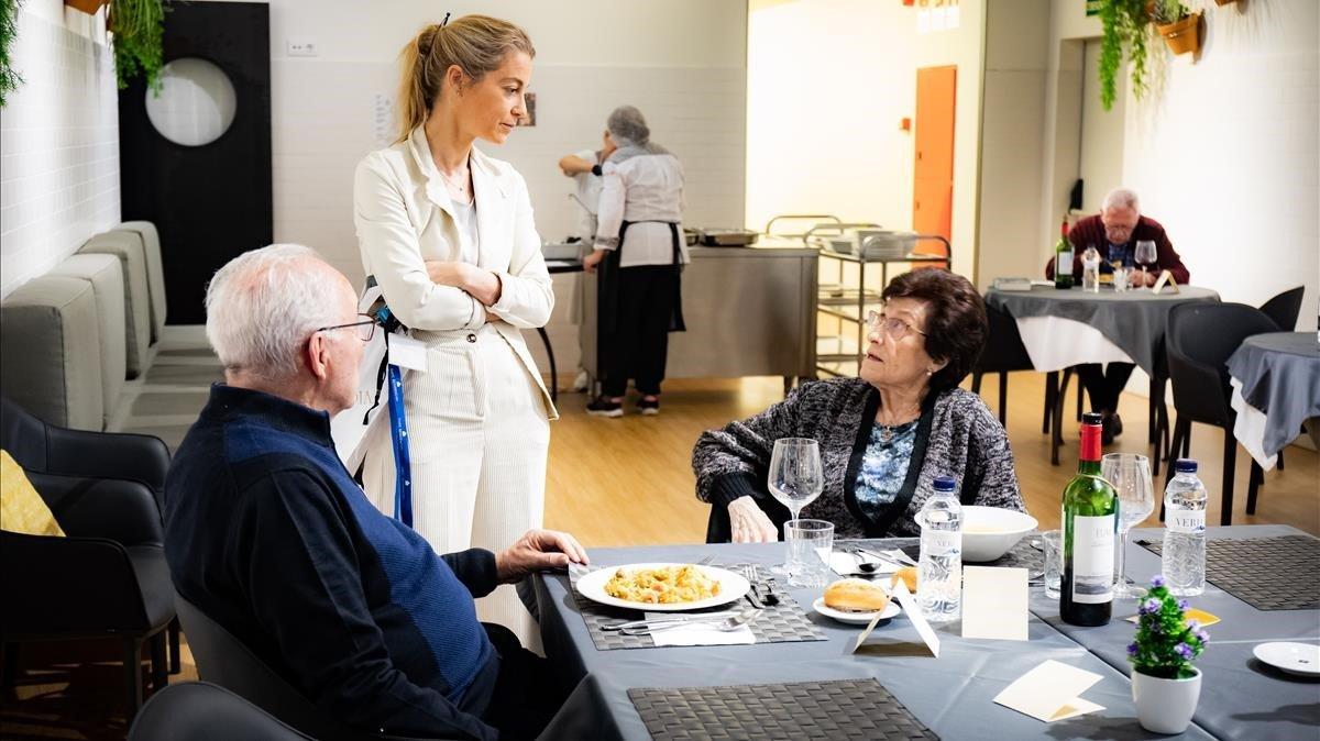 El refugi de la gent gran a la seva última llar