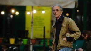 El poeta Enric Casasses, el pasado mes de febrero