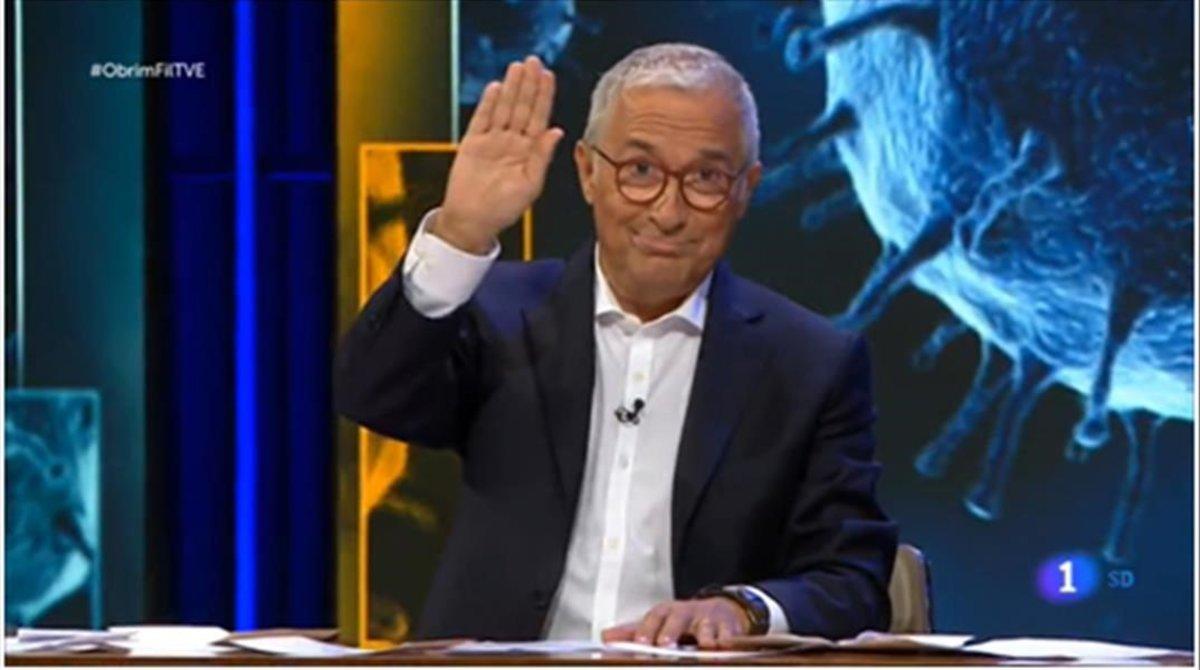 Sardà estrenó 'Obrim fil' (TVE-1Catalunya).