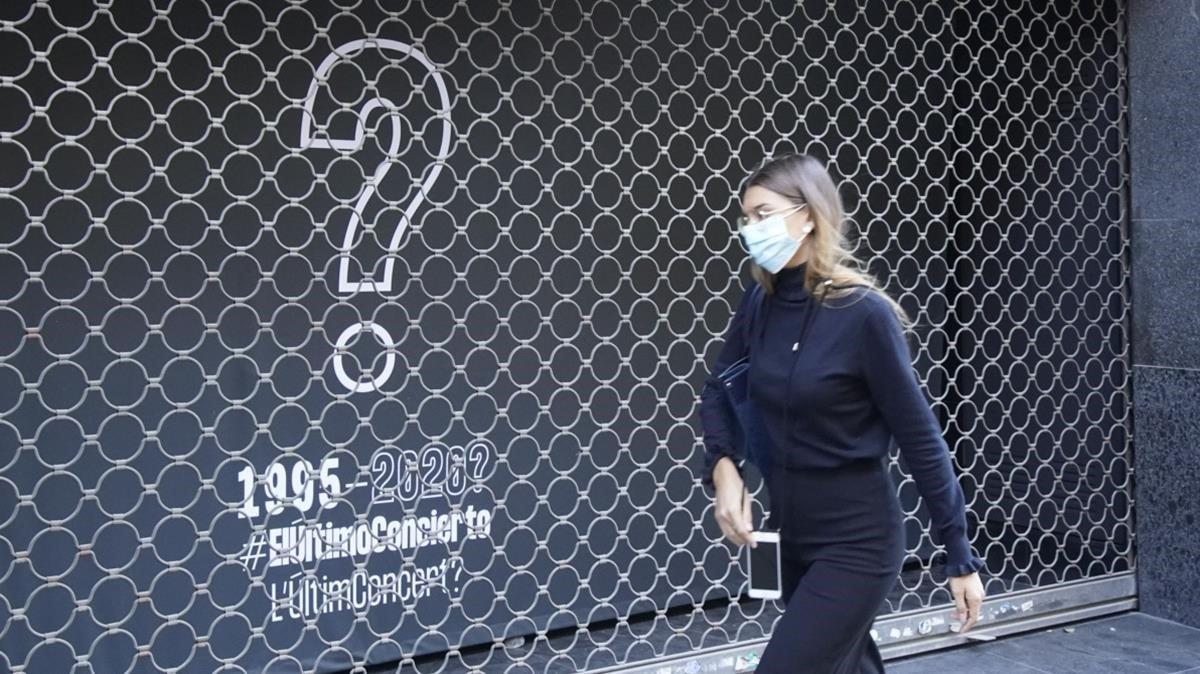 Una entrada de Apolo, sala adscrita a la campaña #ElÚltimoConcierto.